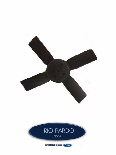 hélice ventilador f-4000 motor ford fto - paralelo