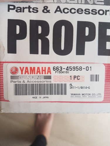 helice yamaha original paso 14