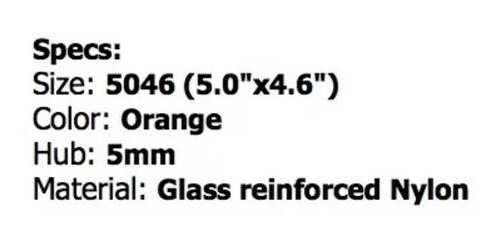 helices 5x4.6 gemfan bull nose nylon  racer c/4  2i y 2d