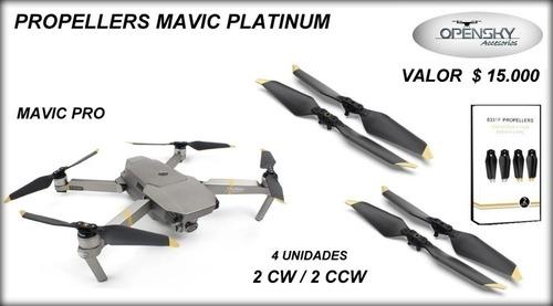 helices mavic pro platinum