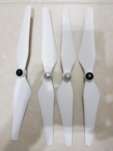 hélices (propelas) originales usadas. dron dji phantom 3