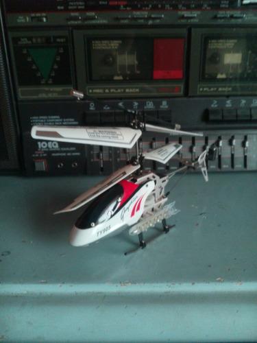 helicoptero a control remoto en buen estado