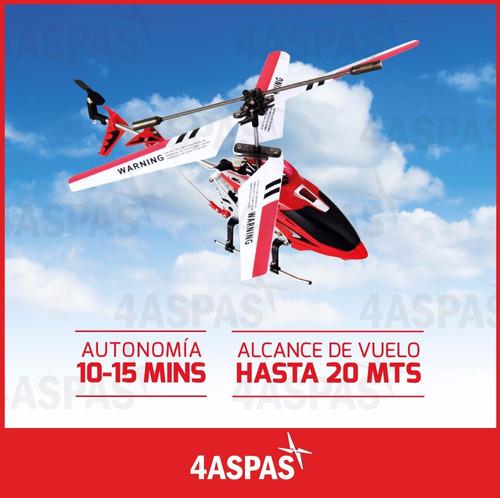 helicoptero a radio control remoto rc metal giroscopo syma