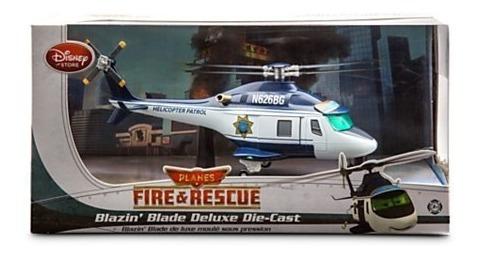 helicoptero blade aviones fire rescue metal (25 cm) a1219
