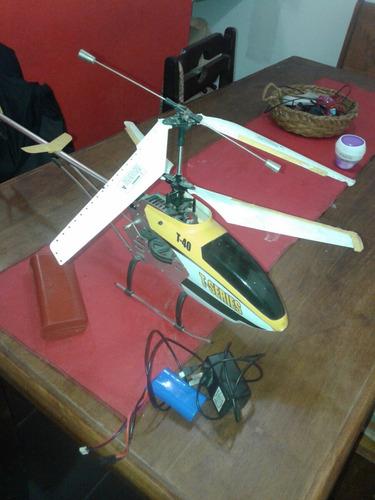 helicoptero con camara filmadora y de fotos