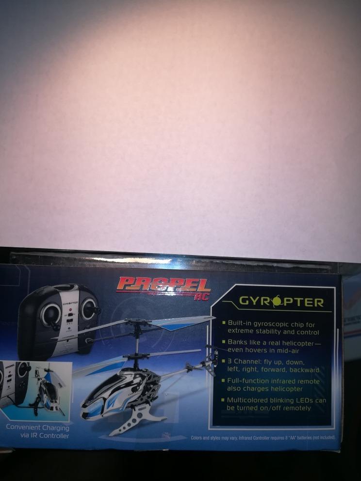 Helicoptero Control Remoto Gyro 3 Channel 200000 En Mercado Libre