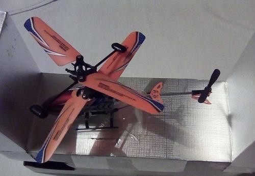 helicoptero control remoto nuevo