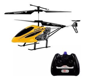 Helicóptero Controle Remoto Fq777 Novo