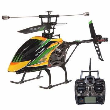helicóptero controle remoto wltoys v912 + bateria(sem caixa)