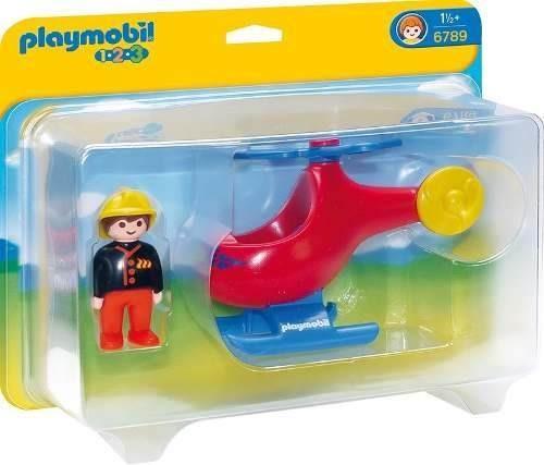 helicoptero de bomberos playmobil r3745