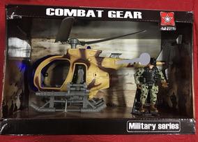 Con Soldados Articulado Helicóptero Combate De PkwX8On0