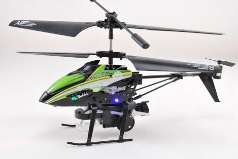 helicóptero de radio control con lanzador de burbujas !!!!!!