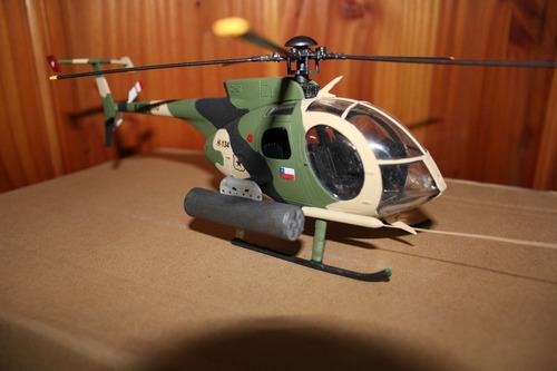 helicóptero ejercito de chile md 530 escala 1:32envío gratis