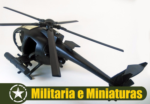 helicóptero littlebird 1/18 - world peacekeepers power team
