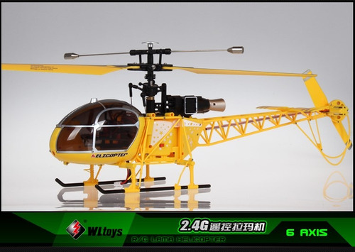 helicoptero para principiante entrenador lama v915 4 canales