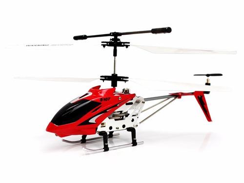 helicoptero radio control syma s107g metal giroscopio