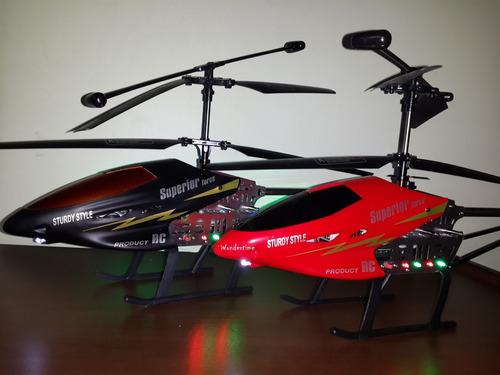 helicóptero radiocontrol gigante 60cm qy66 súper resistente