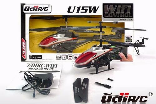 helicoptero radiocontrol wifi udir/c u15w