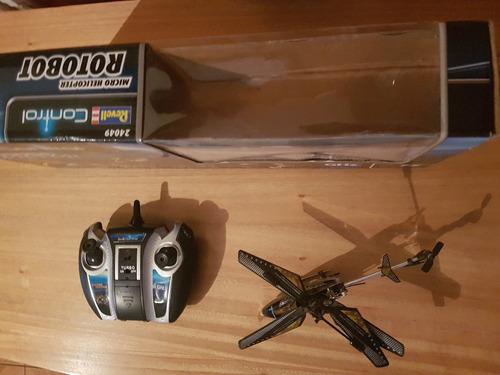 helicoptero radiocontrolado rotobot revell