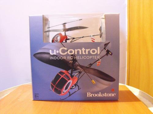 helicóptero rc brookstone a control remoto