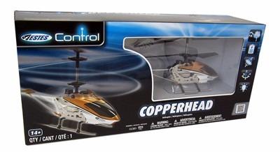 helicóptero r/c estes copperhead 36.8 cm de longitud