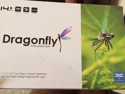 helicóptero rc infrarrojo dragonfly