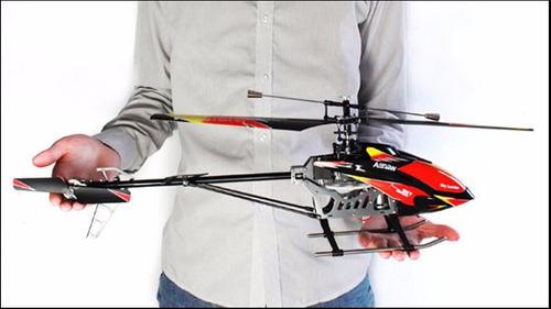 helicoptero rc marca wltoys 913, 4 canales 70cms de largo