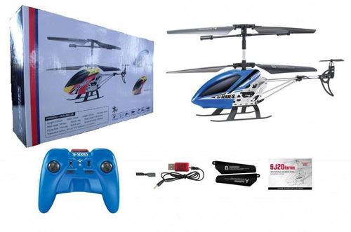 helicoptero rc sj 230 giroscopio control remoto 3 canales