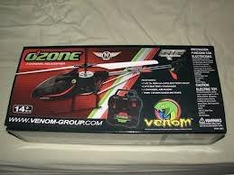 helicoptero r/c venom ozone 3 ch venf6203
