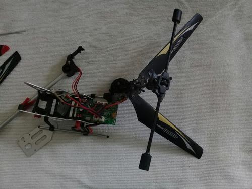 helicoptero repuesto