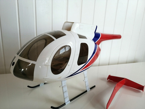 helicoptero t-rex 450 pro con radio futaba t6ex más fuselaje