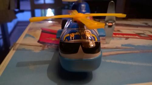helicoptero twin policia cuerda japon devoto hobbies