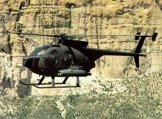 helicoptero usaf oh-58 kiowa