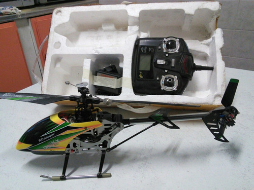 helicoptero wl toys v912. 4 canales. muy bueno !!