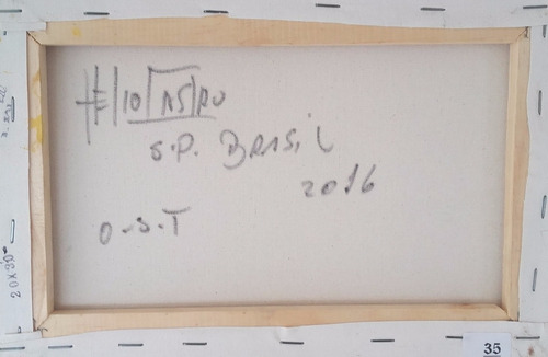 hélio de castro - marinha - ost - 20 x 30 cm - acie 2016 -