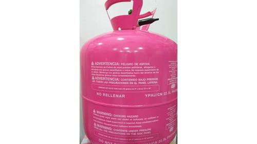 helio globos garrafa