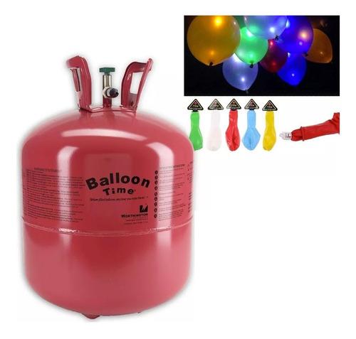 helio tanque gas para globos fiestas