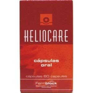 heliocare - proteção solar oral natural - 60 cápsulas