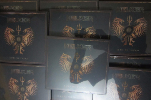 helker alma de fuego cd 2017 nuevo original sellado