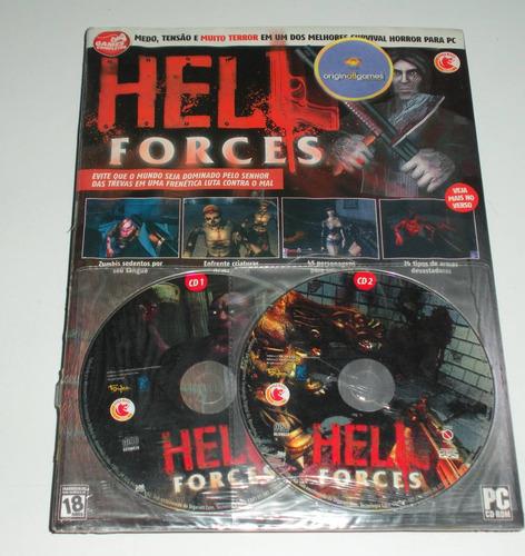 hell forces terror | pc mídia física original