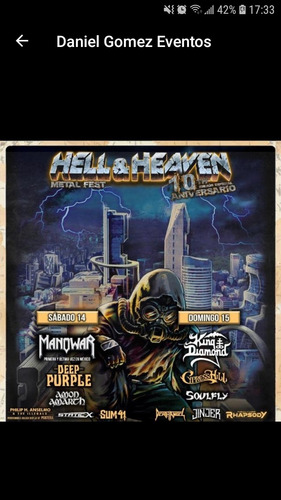 hell &haeven venta de boletos