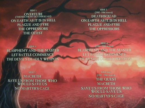 hell human remains 3 lp blitzkrieg accept black sabbath