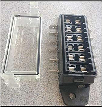 hella h84960091 6-way lateral individual caja de fusibles