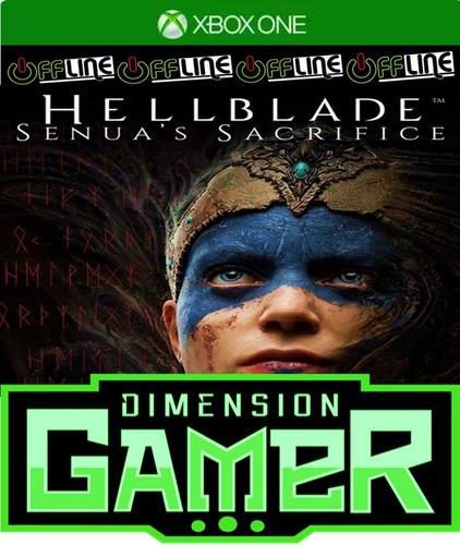 hellblade senua's sacrifice - xbox one - no codigo off-line