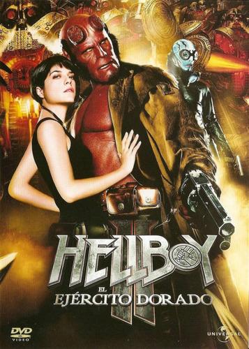 hellboy 2: el ejército dorado - dvd original usado
