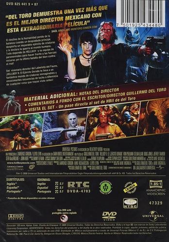 hellboy 2 el ejercito dorado golden army pelicula dvd