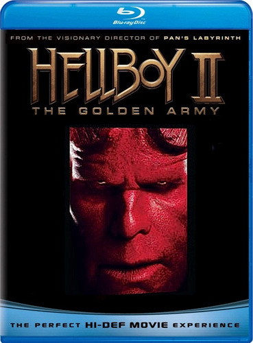 hellboy 2 - the golden army - blu ray - importado