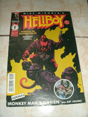 hellboy ed. vid y blu ray nuevo