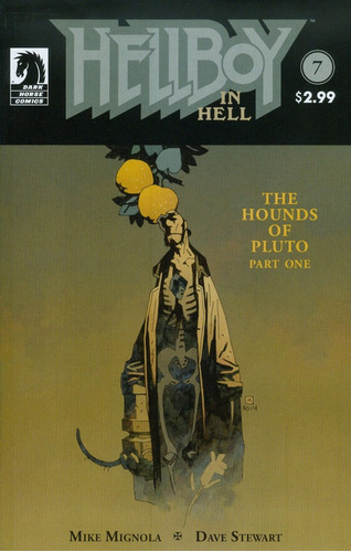hellboy in hell #7 (2015) mike mignola - ed. dark horse