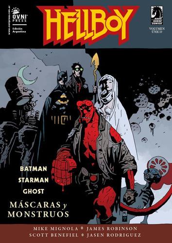 hellboy - mascaras y monstruos - ovni press